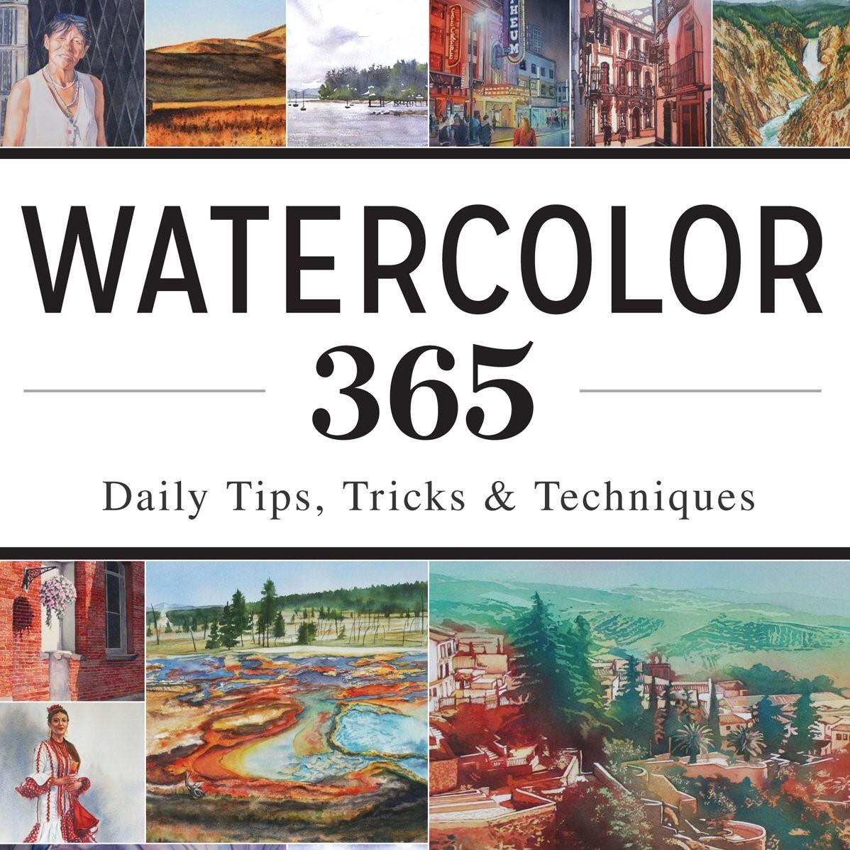 【水彩書籍介紹】Watercolor 365: Daily Tips, Tricks, andTechniques