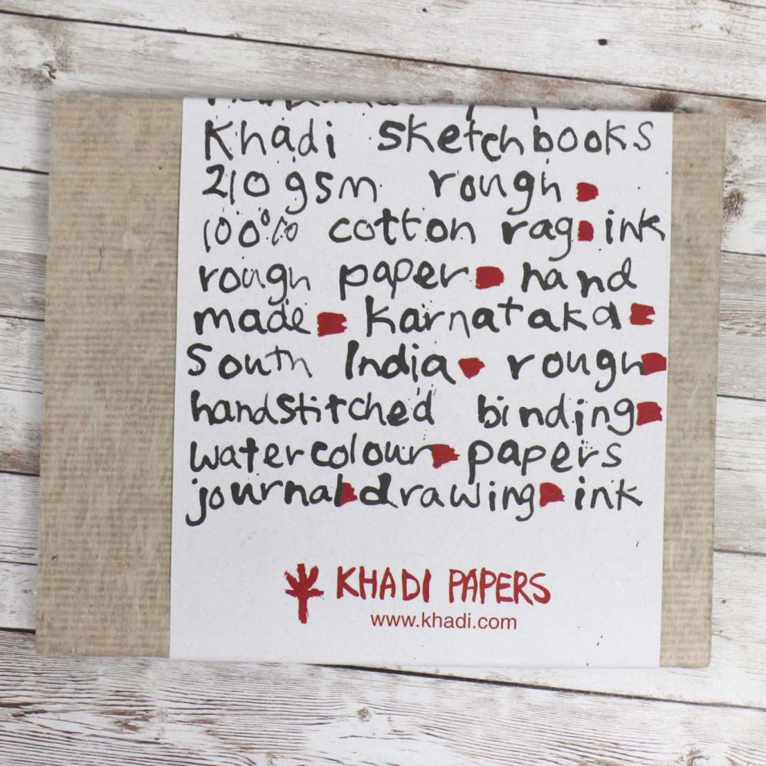 Khadi Paper印度水彩本 與單色畫練習